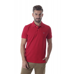 Polo Gant piqué original red