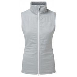 Chaleco Fj Quilted Grey Lady